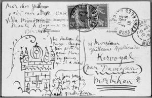 Apollinaire Picasso 3 08 1918