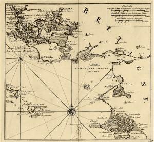 carte ancienne morbihan