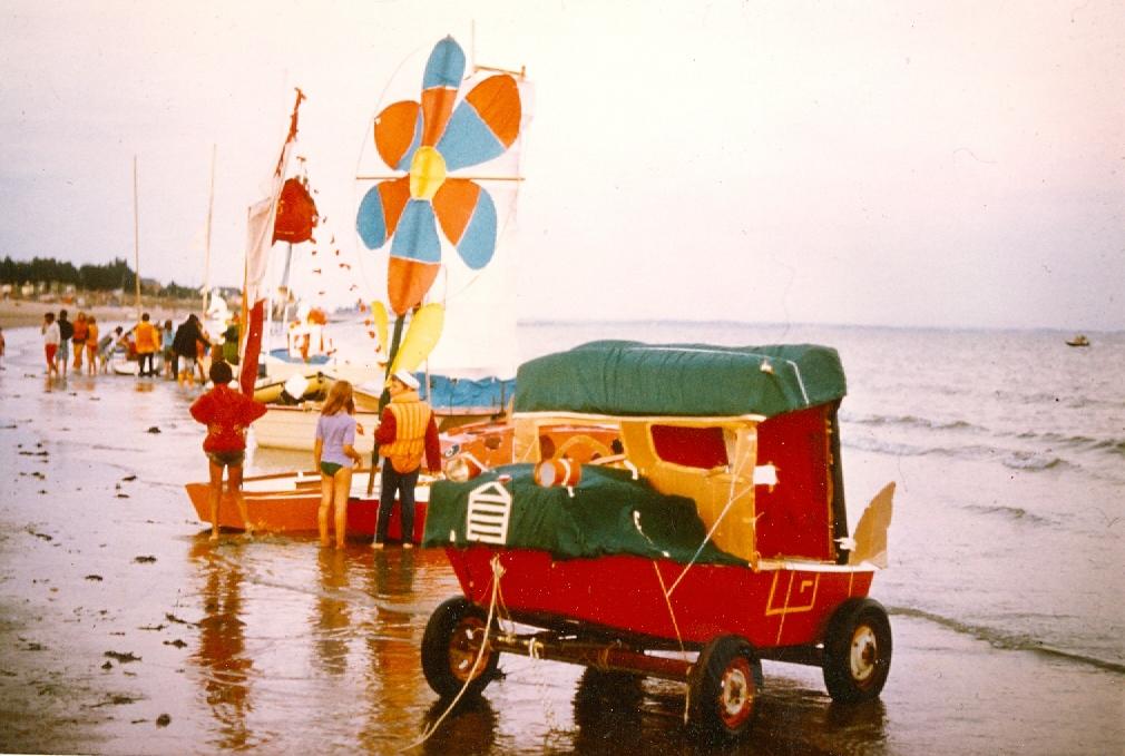 """""""Défilé"""" en 1977"""