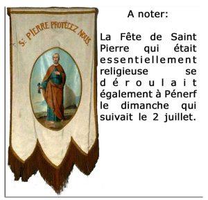 Bannière Saint Pierre - fête de Pénerf v2