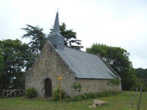 Figure 2 chapelle de la famille Bavalan près de Yoff d'Ambon.
