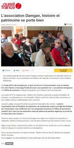 article ouest france ag dhp fevrier 2017