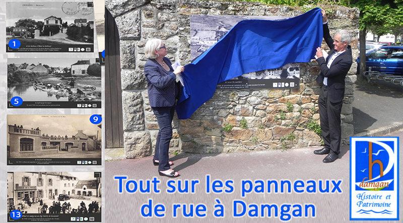 article panneaux de rue damgan histoire et patrimoine