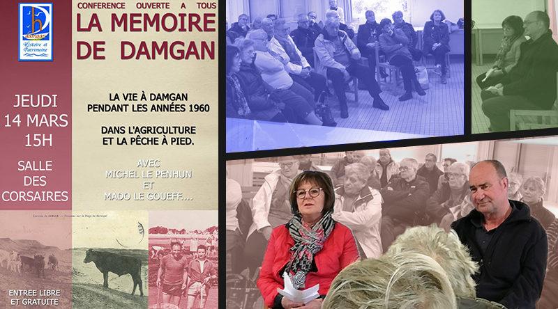 articla années 60 damgan histoire