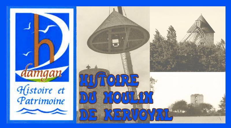 Histoire du moulin de Kervoyal