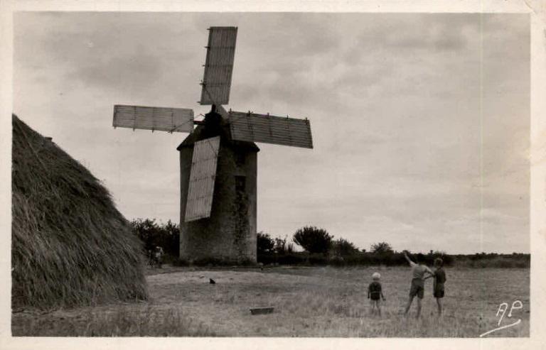 moulin de kervoyal année 50
