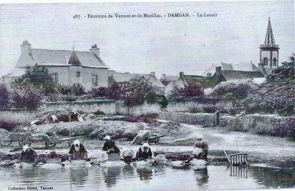 le lavoir en 1910